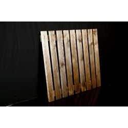 Caillebotis bois pour racks