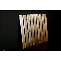 Platelage bois pour racks